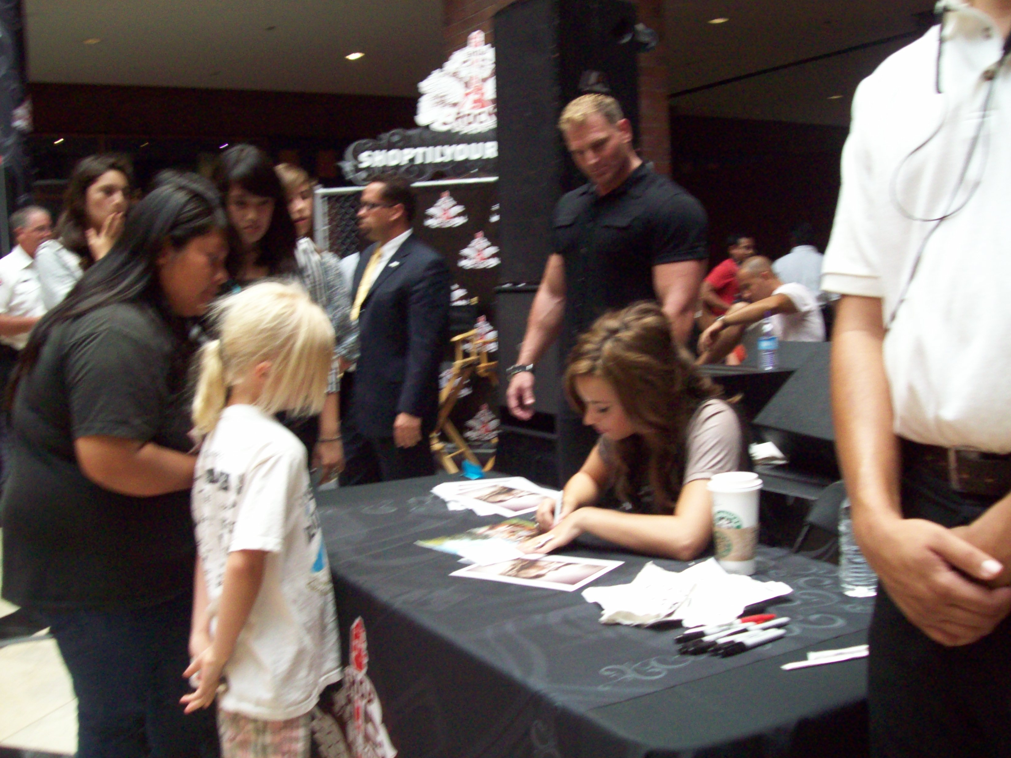 Meeting Stars At Meet And Greets And Cdbook Signings Reach For