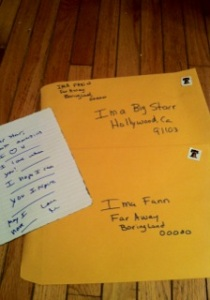 getting stars autographs through the mail using fanmail addresses