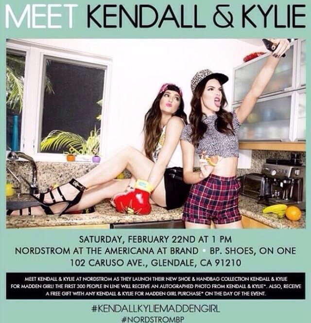 Meet kylie and kendall jenner for madden girl nordstrom glendale meet kylie and kendall jenner for madden girl nordstrom glendale ca february 22 2014 m4hsunfo