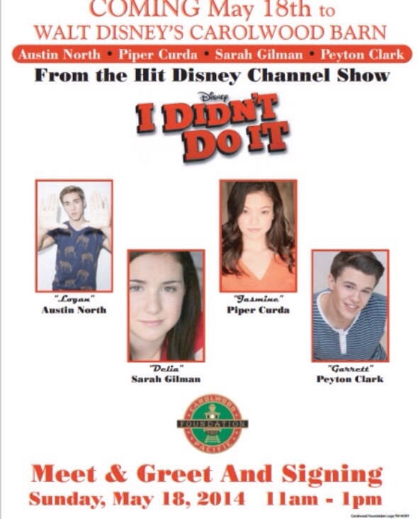 Reach for the stars your online guide to meeting todays young meet piper curda peyton clark sarah b gilman and austin north at walts barn los angeles ca may 18 2014 m4hsunfo