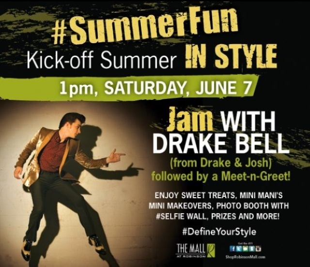 Drake bell performance and meet and greet the mall at robinson drake bell performance and meet and greet the mall at robinson pittsburgh pa june 7 2014 m4hsunfo
