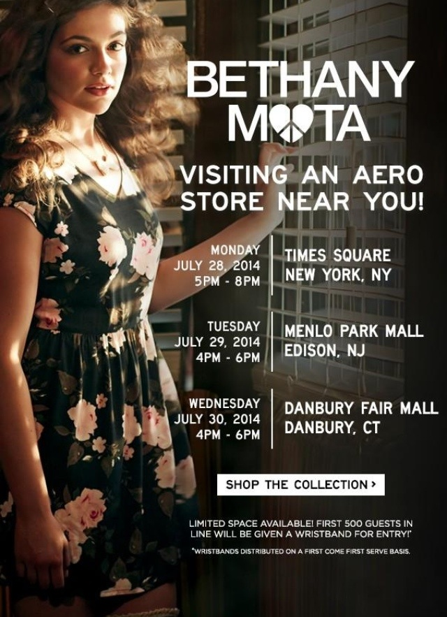 Bethany mota announces east coast meet ups july 2014 reach for the bethany mota announces east coast meet ups july 2014 m4hsunfo