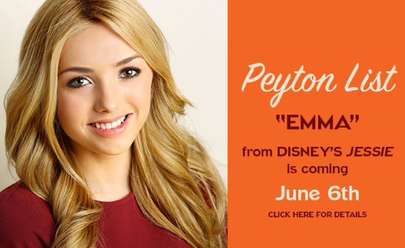 Meet peyton list june 6 2015 rivergate mall tennessee reach for check out this fun chance to meet peyton list in tennessee m4hsunfo