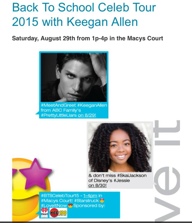 Meet keegan allen and skai jackson at huntington mall west virginia img9801g heres your chance to meet keegan allen from pretty m4hsunfo